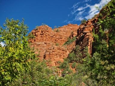 Trail along Oak Creek